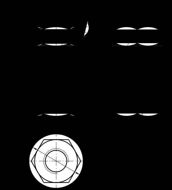 Чертеж фаски Обозначение фаски на чертеже