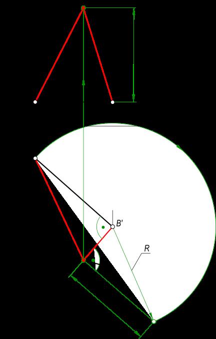 Проекции прямоугольного треугольника