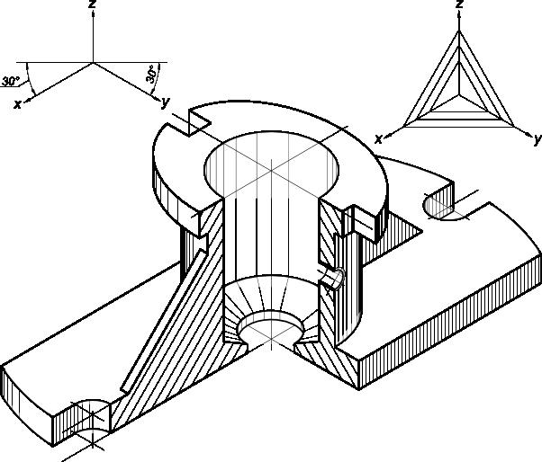 Технический рисунок по черчению